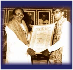 18 Year-old Ravikiran was the first to be bestowed the 'Star of India' by Wisdom International, in 1985.