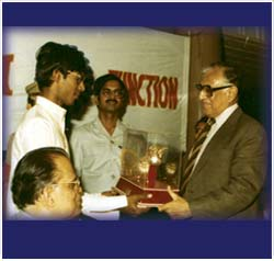 He was also given the title, 'Sangeet Samrat' (Emperor of Music) during this event.