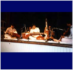 Concert with Mysore Nagaraj, K V Prasad, Palghat Sundaram and Kiranavali in House of World Culture, Berlin, Germany.