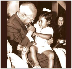 Honoured by Governor of Karnataka in Bangalore as a 2 year-old.